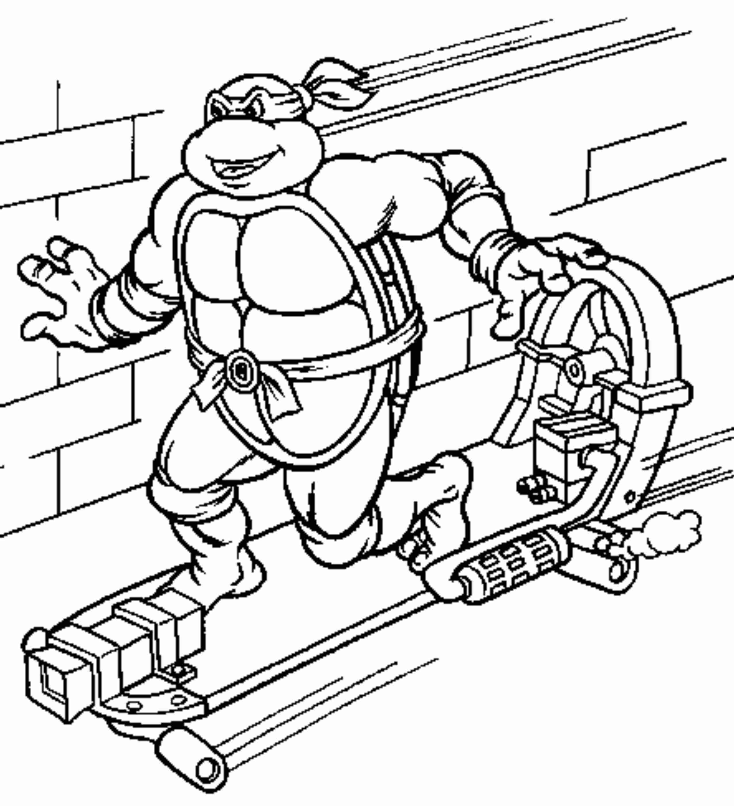 coloring pages turtles ninja songs - photo#38