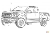 Ford Truck Coloring Pages - 2017 ford F 150 Raptor Coloring Page Gallery