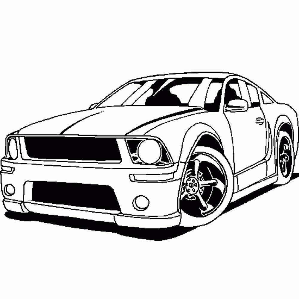 coloring pages sports cars to print free coloring sheets. Black Bedroom Furniture Sets. Home Design Ideas