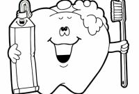 Teeth Coloring Pages - 33 Teeth Brushing Coloring Pages Brush Teeth Coloring Page Coloring Download