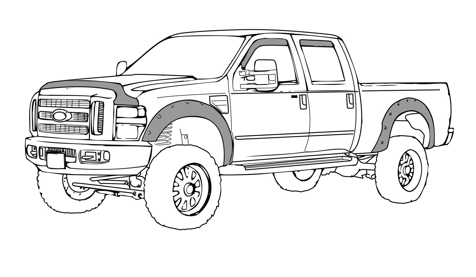 2017 ford f 150 raptor coloring page gallery  u2013 free