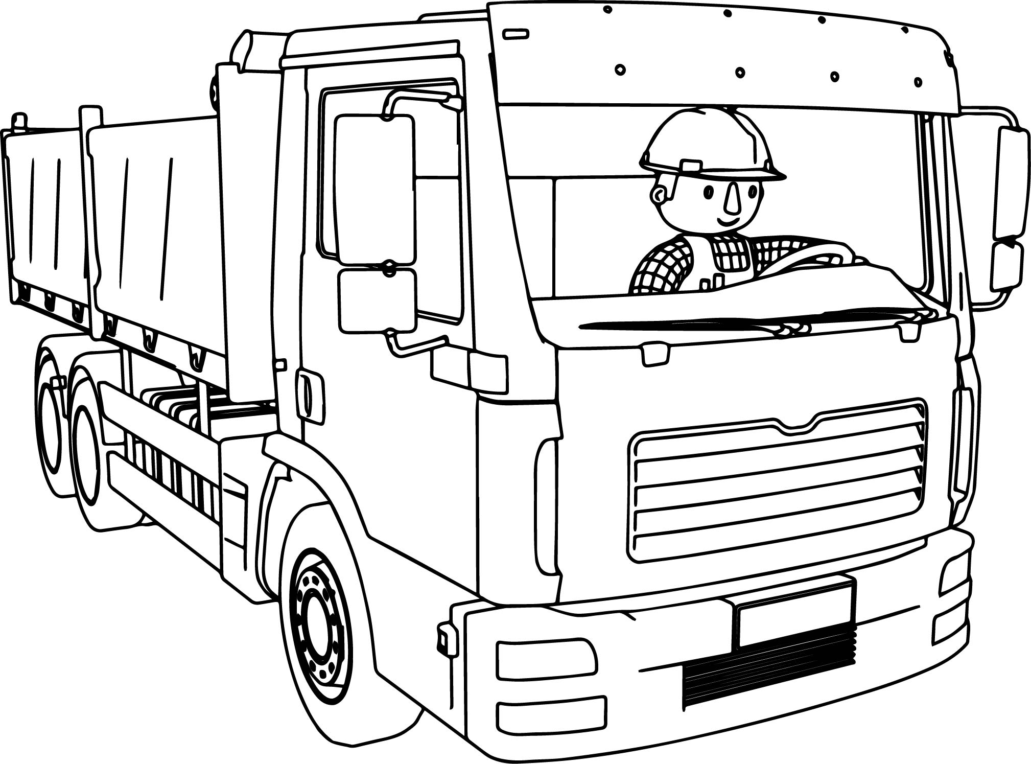 Truck coloring pages gallery free coloring sheets for Free coloring page maker