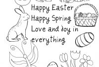 Coloring Easter Pages to Print - 38 Happy Easter Coloring Page Happy Easter Wishes Free Coloring Download