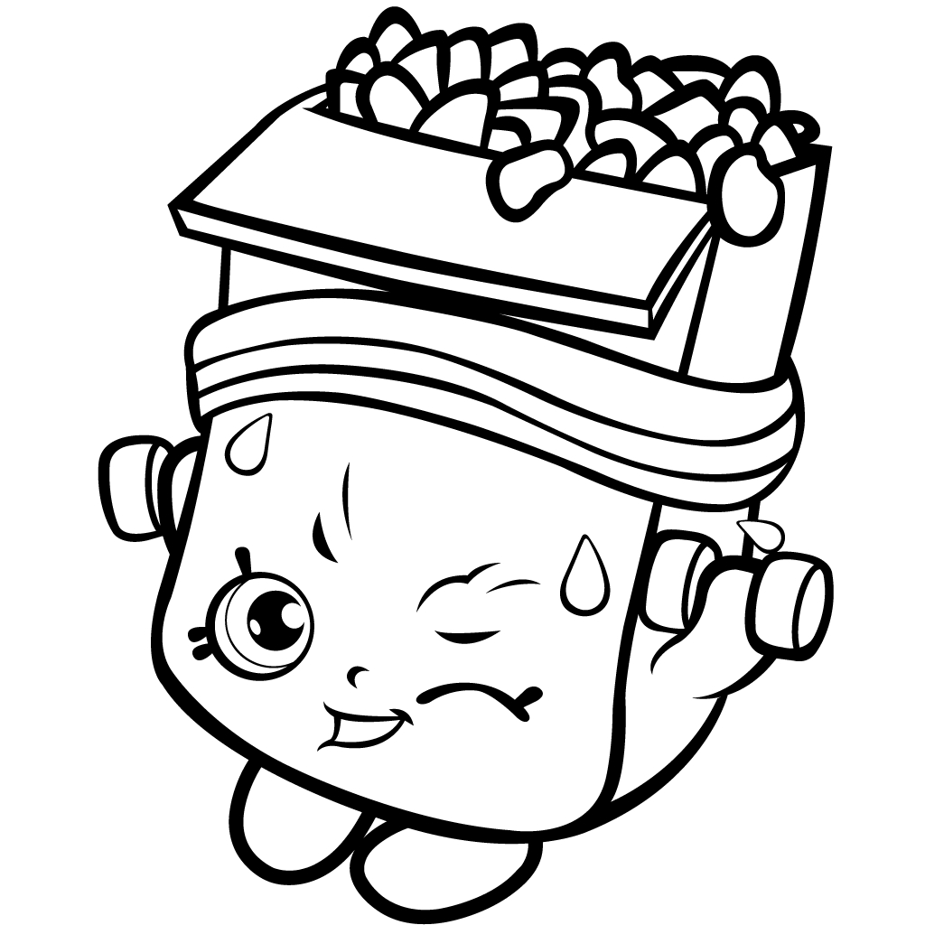 40 Printable Shopkins Coloring Pages Download Of 40 Printable Shopkins Coloring Pages Gallery