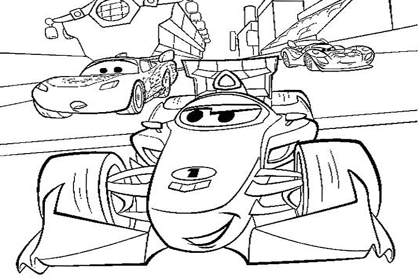 Cars 2 Coloring Pages Printable | Free Coloring Sheets