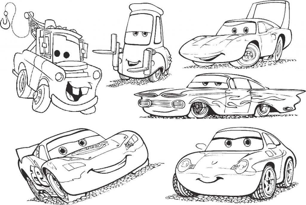 Cars 2 Coloring Page Gallery – Free Coloring Sheets
