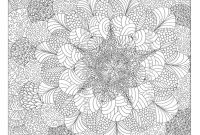 Complicated Coloring Pages to Print - Abstract Coloring Pages Capricus Download