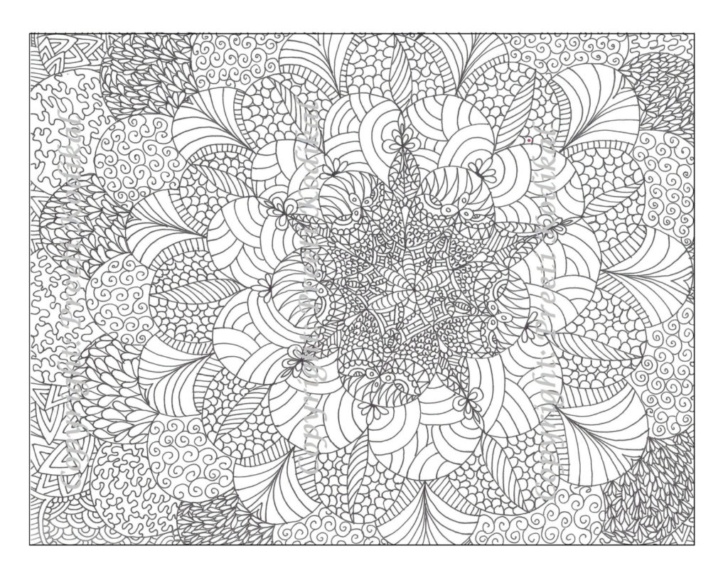 Abstract Coloring Pages Capricus Download – Free Coloring Sheets