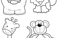 African Safari Coloring Pages - African Safari Coloring Pages – Color Bros Printable