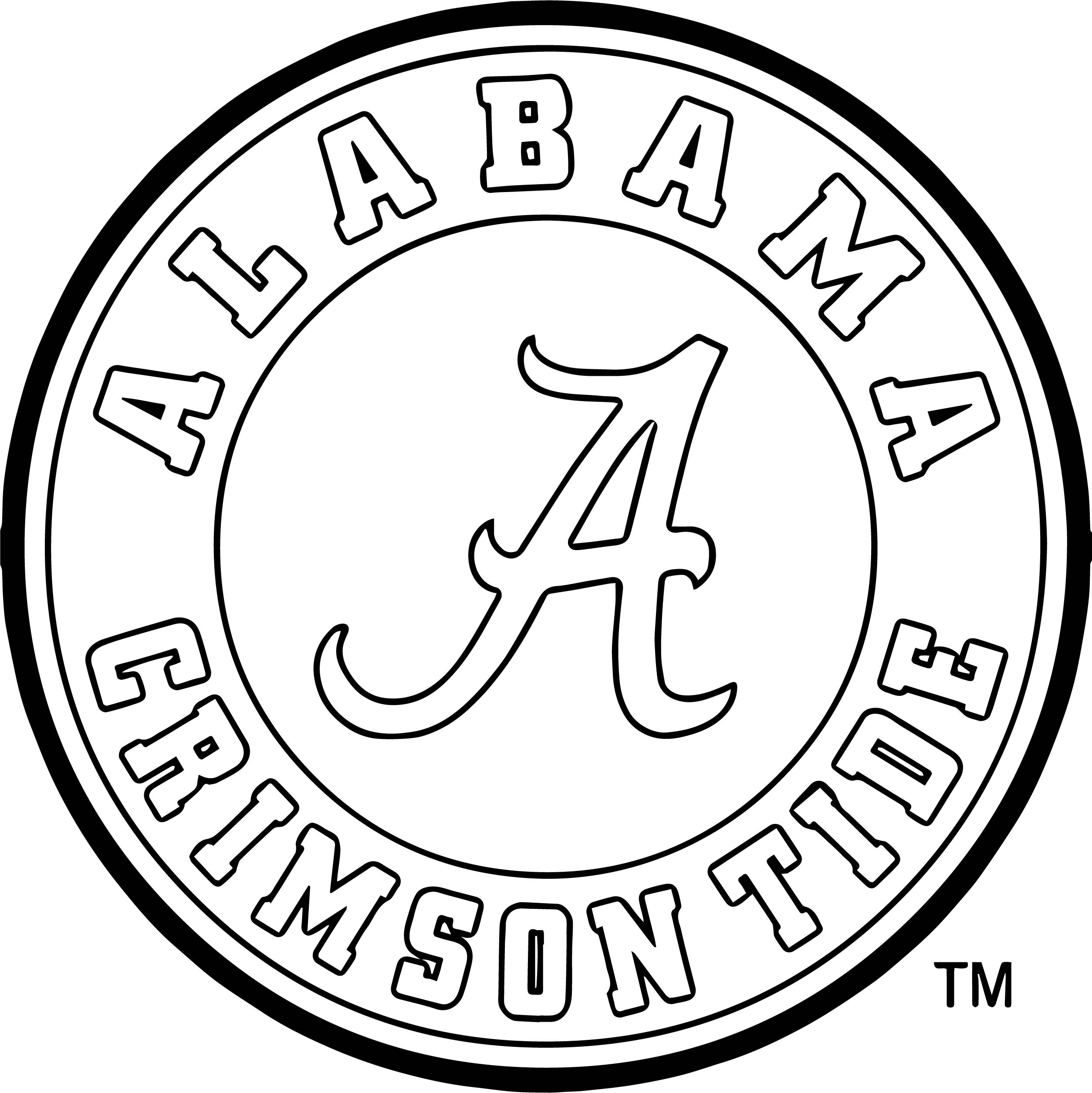Alabama Football Coloring Pages to Print – Free Coloring Sheets