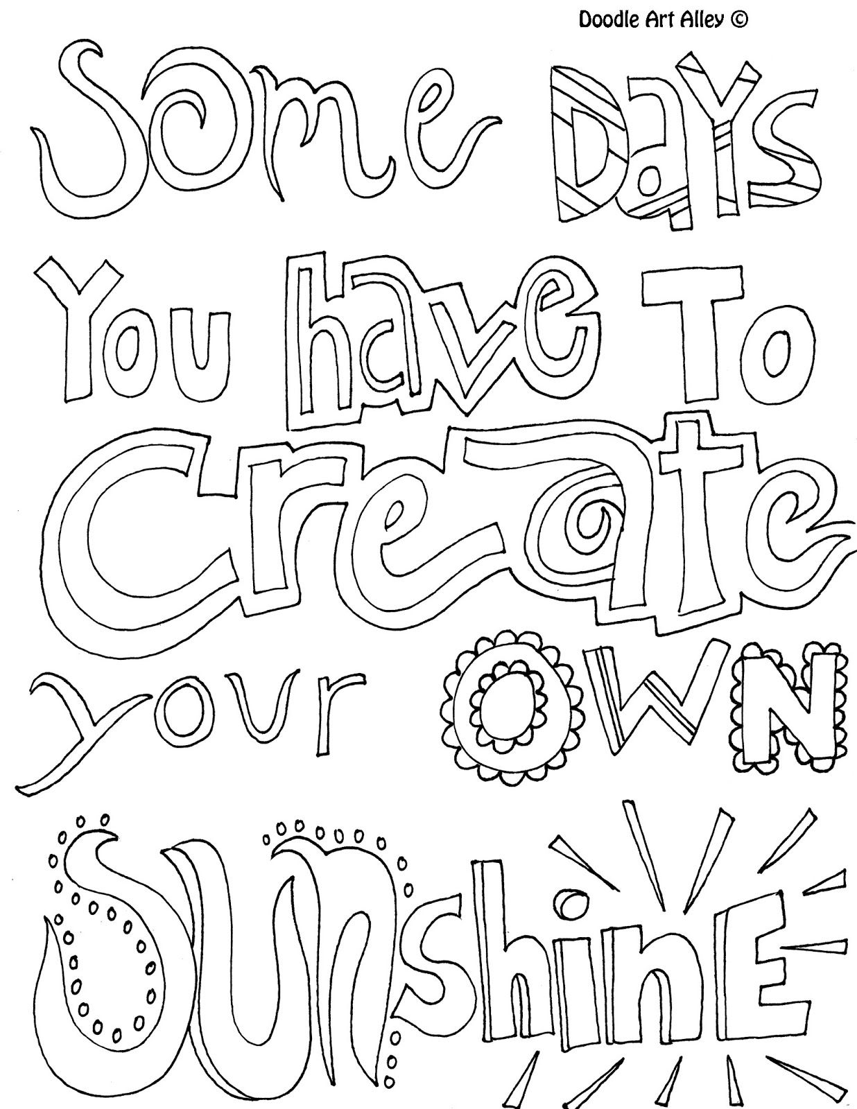All Quotes Coloring Pages Great Quotes Doodle Page Great to Use Printable Of Free Printable Quote Coloring Pages for Grown Ups Download