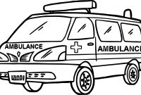 Coloring Pages Of Car - Ambulance Coloring Pages Car Transportation for Kids Awesome Good at Download
