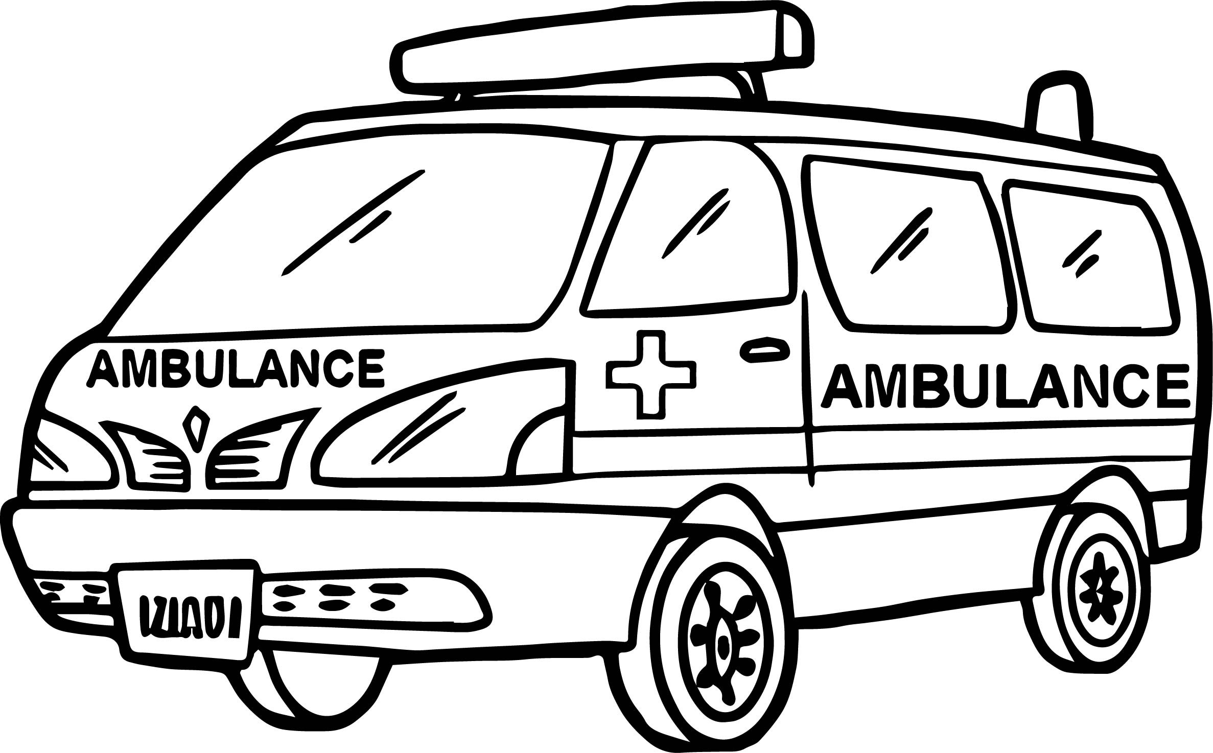 Coloring pages of car collection free coloring sheets for Ambulance coloring page