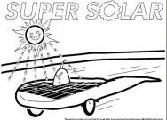 Solar Energy Coloring Pages - and Educational solar and Renewable Energy Projects to Print