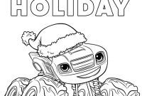 Blaze Coloring Pages to Print - and the Monster Machines Coloring Pages to Print