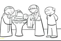 Baptism Coloring Pages - Baptism Coloring Pages Jesus Page with Gallery