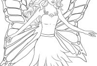 Printable Coloring Book Pages for Kids - Barbie Coloring Pages Download