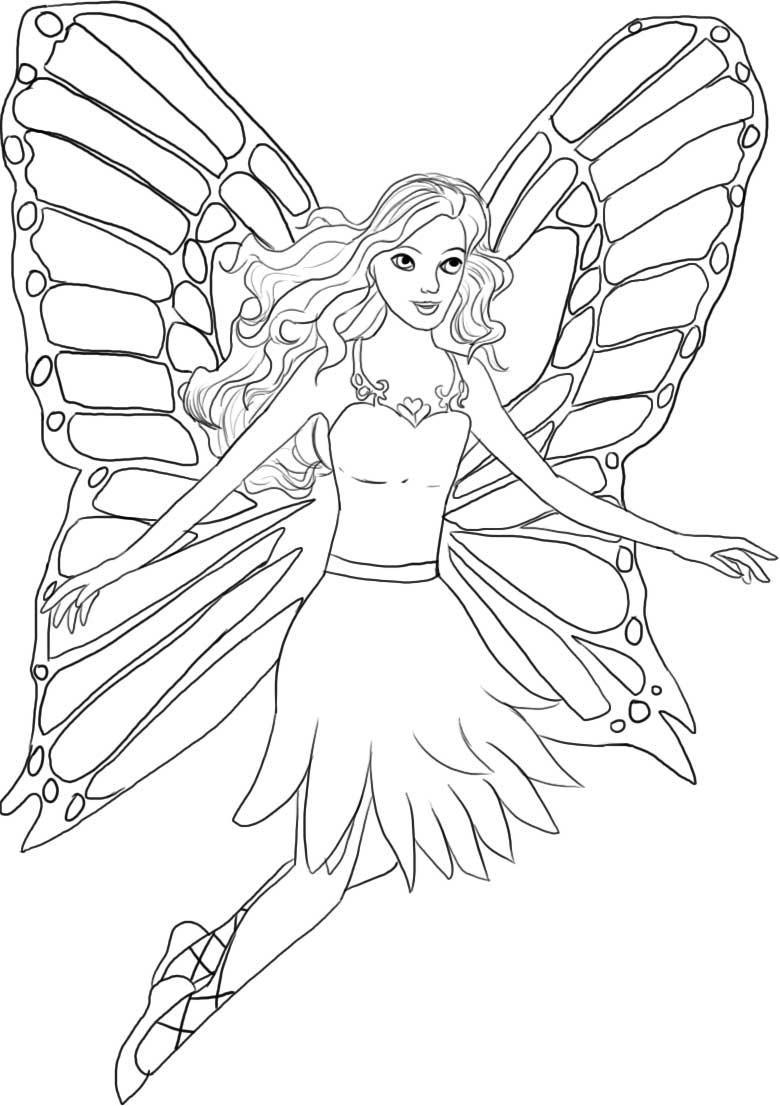 Barbie Coloring Pages Download – Free Coloring Sheets