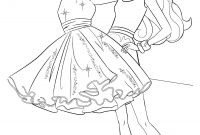 Coloring Pages Barbie - Barbie Games Dress Up Decoration Games are Waiting for You Collection