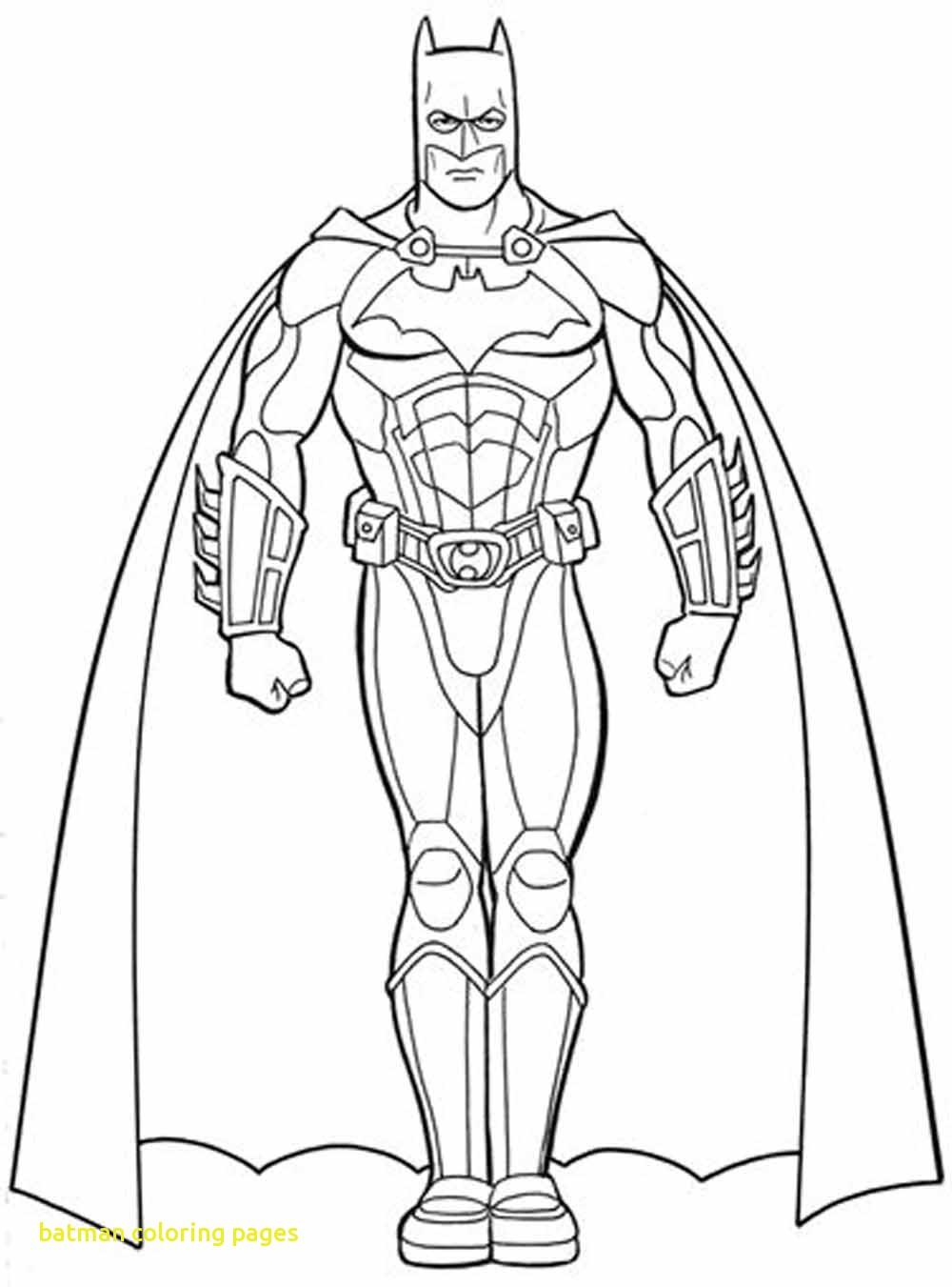 Batman Color Pages Lenito Download – Free Coloring Sheets