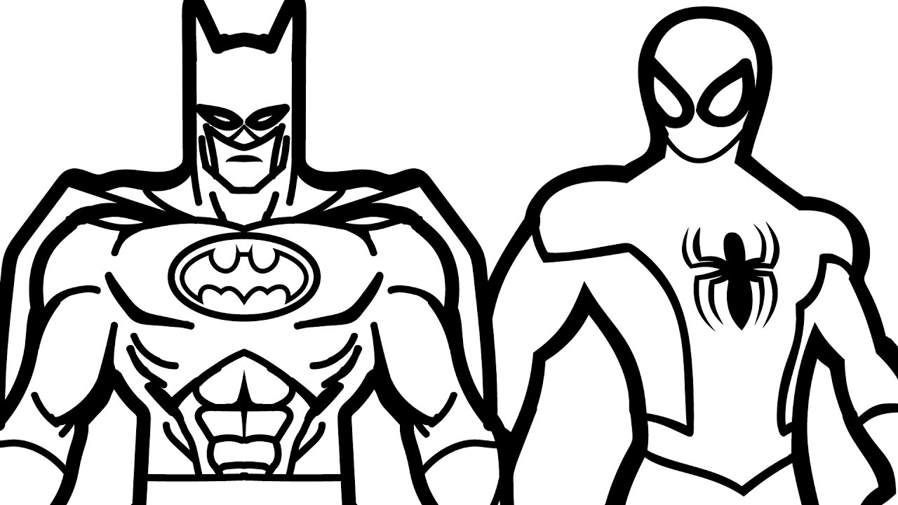 Batman Coloring Pages to Print 13m - Save it to your computer