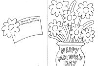 Mothers Day Coloring Pages for Preschool - Best Mothers Day Coloring Pages Cards and Cakes Print Free Printable