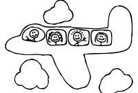 Pre Kinder Coloring Pages - Best Preschool Coloring Pages Airplane Transportation Picture Pre to Print