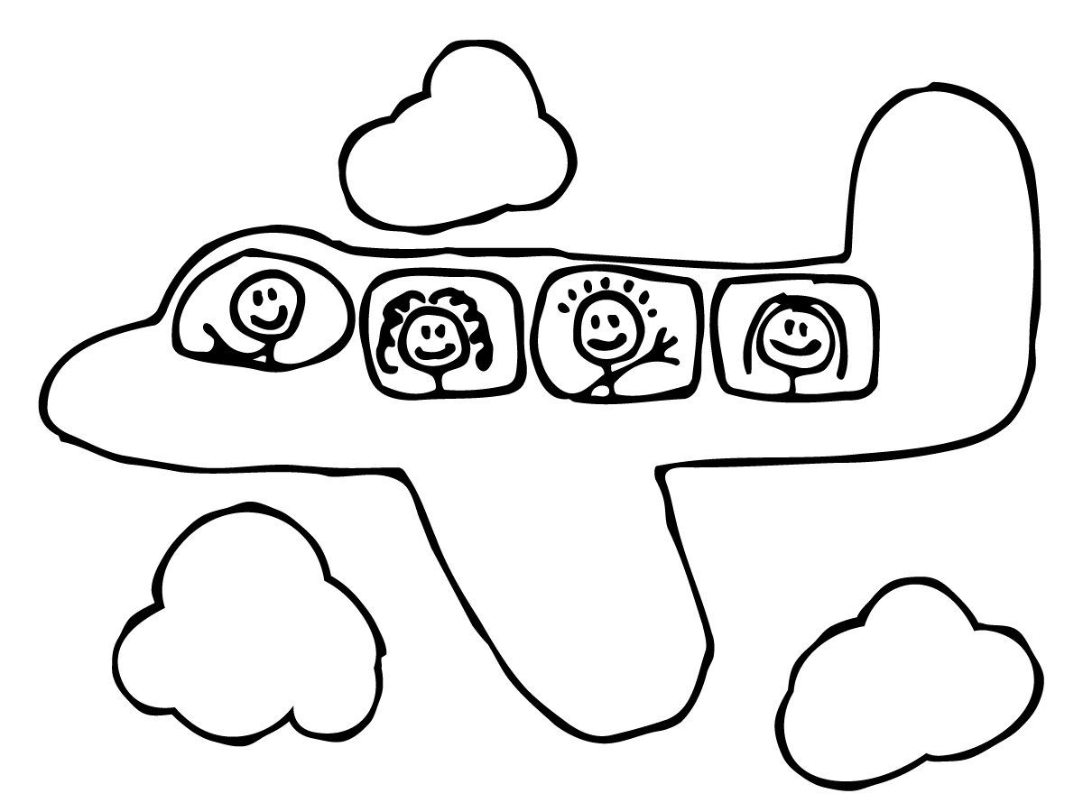 Best Preschool Coloring Pages Airplane Transportation Picture Pre to Print Of Leaf Coloring Pages for Preschool Gallery
