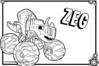 Blaze Coloring Pages to Print - Blaze and the Monster Machines Printable Coloring Pages Download Download