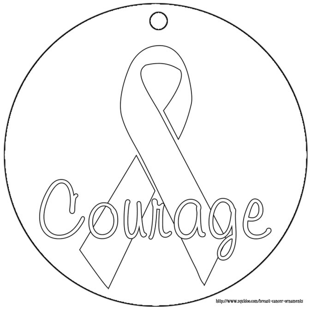 Breast Cancer Coloring Pages to Print 11j - Free For Children