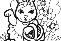 Coloring Easter Pages to Print - Bunny Coloring Sheets Free Printable 1110 Gallery