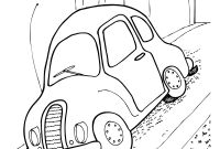 Vw Beetle Coloring Pages - Car Beetle Coloring Page Create A Printout Activity Collection