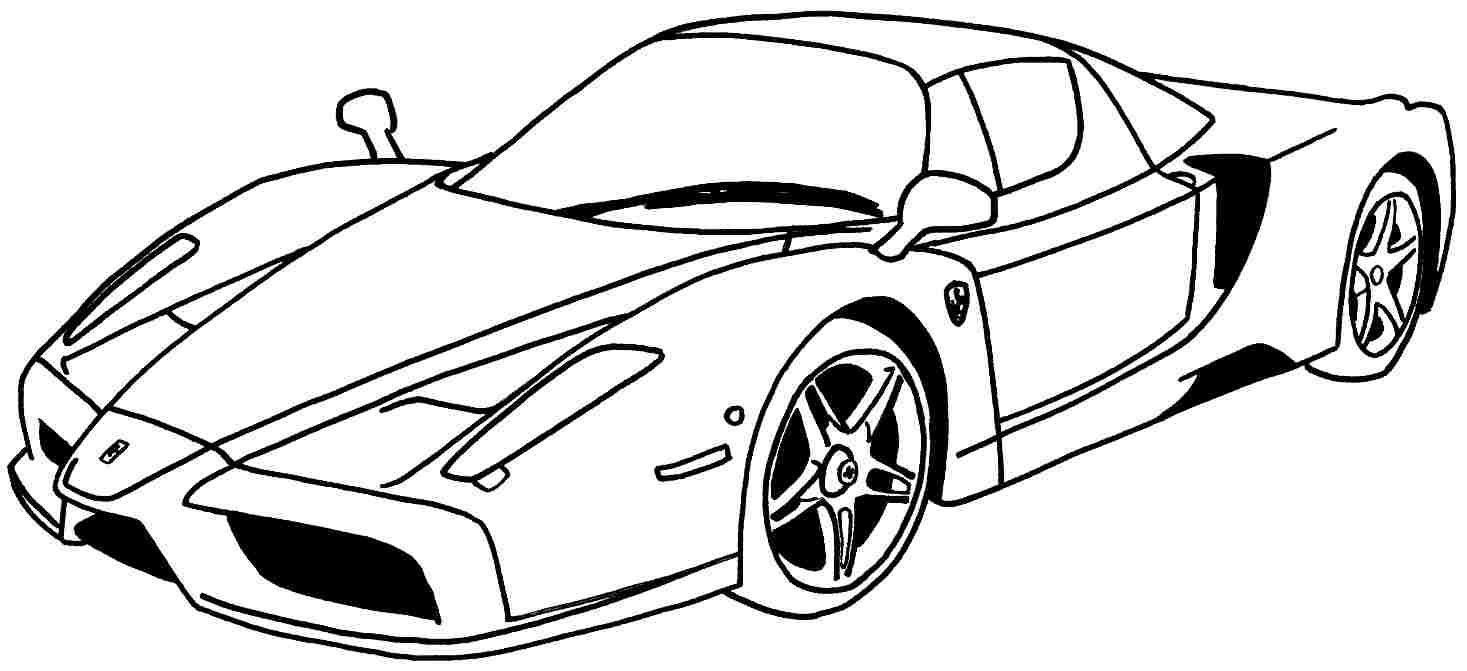 Free Printable Race Car Coloring Pages for Kids Gallery – Free ...