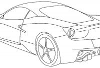 Coloring Pages Of Car - Car Coloring Pages Printable