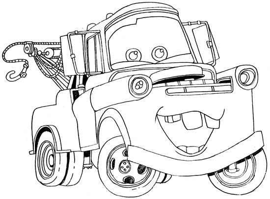 Cars 2 Coloring Pages Printable 11j - To print for your project