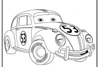 Vw Beetle Coloring Pages - Cars 2 Printable Coloring Pages Printable