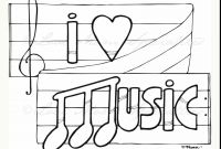 Music Notes Coloring Pages Preschoolers - Challenge Music Notes Coloring Pages Printable Note for Kids at to Print