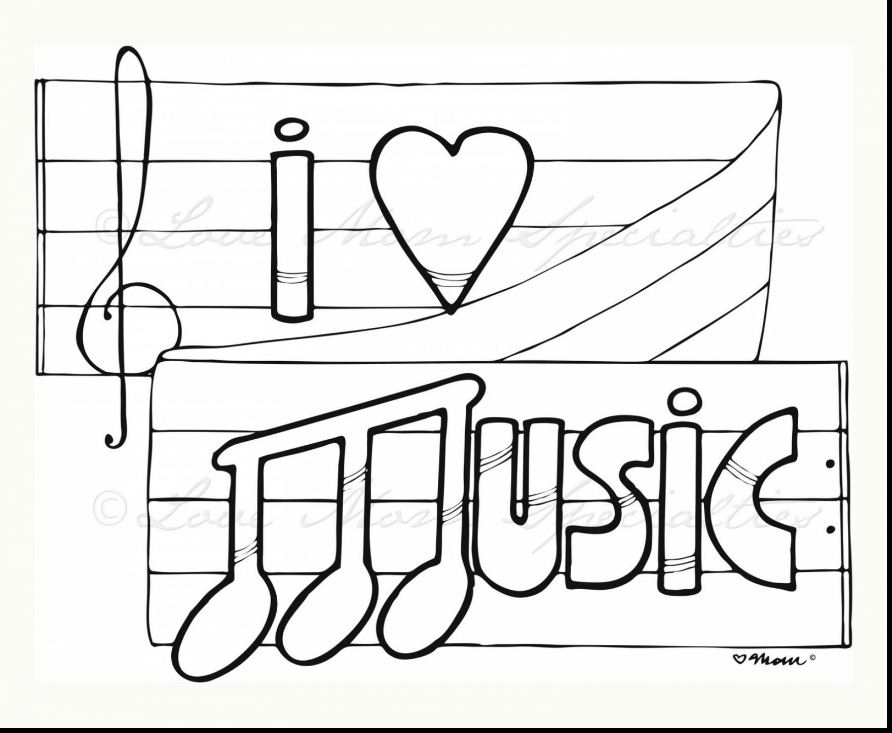 Challenge Music Notes Coloring Pages Printable Note for Kids at to Print Of Printable Music Note Coloring Pages for Kids Collection