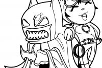 Batman Coloring Pages - Chibi Batman Coloring Pages Best Chibi Batman Cartoon Coloring Download