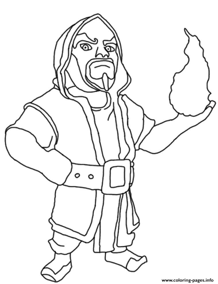 Free Clash Of Clans Coloring Pages to Print 2c - Free For kids