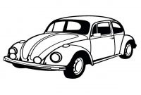 Volkswagen Beetle Coloring Pages - Classic Car Coloring Pages Beetle Grig3 Collection