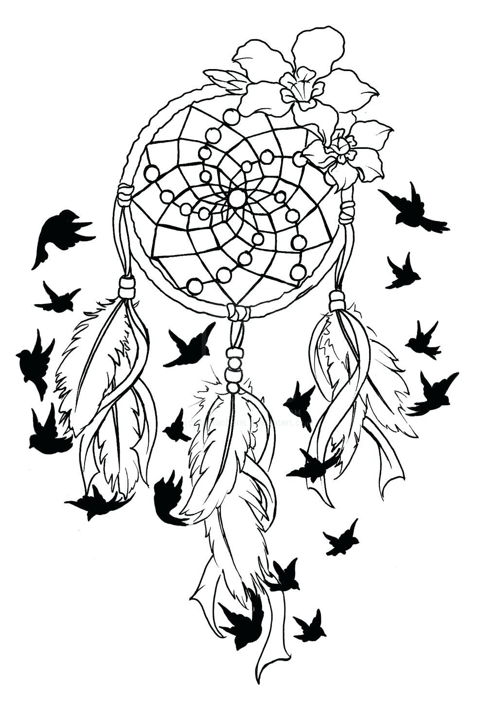 Coloring Page Breast Cancer Coloring Pages Ribbon with Bird Tattoo Printable Of Cancer Ribbon Drawing at Getdrawings to Print