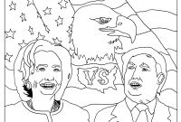 Hillary Clinton Coloring Pages - Coloring Page Inspired by the 2016 Us Presidential Elections Gallery