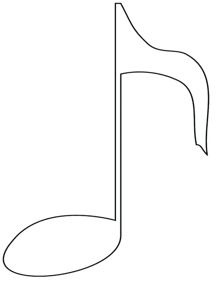 Coloring Page Music Notes Coloring Pages Impressive 4 to Print Of Printable Music Note Coloring Pages for Kids Collection