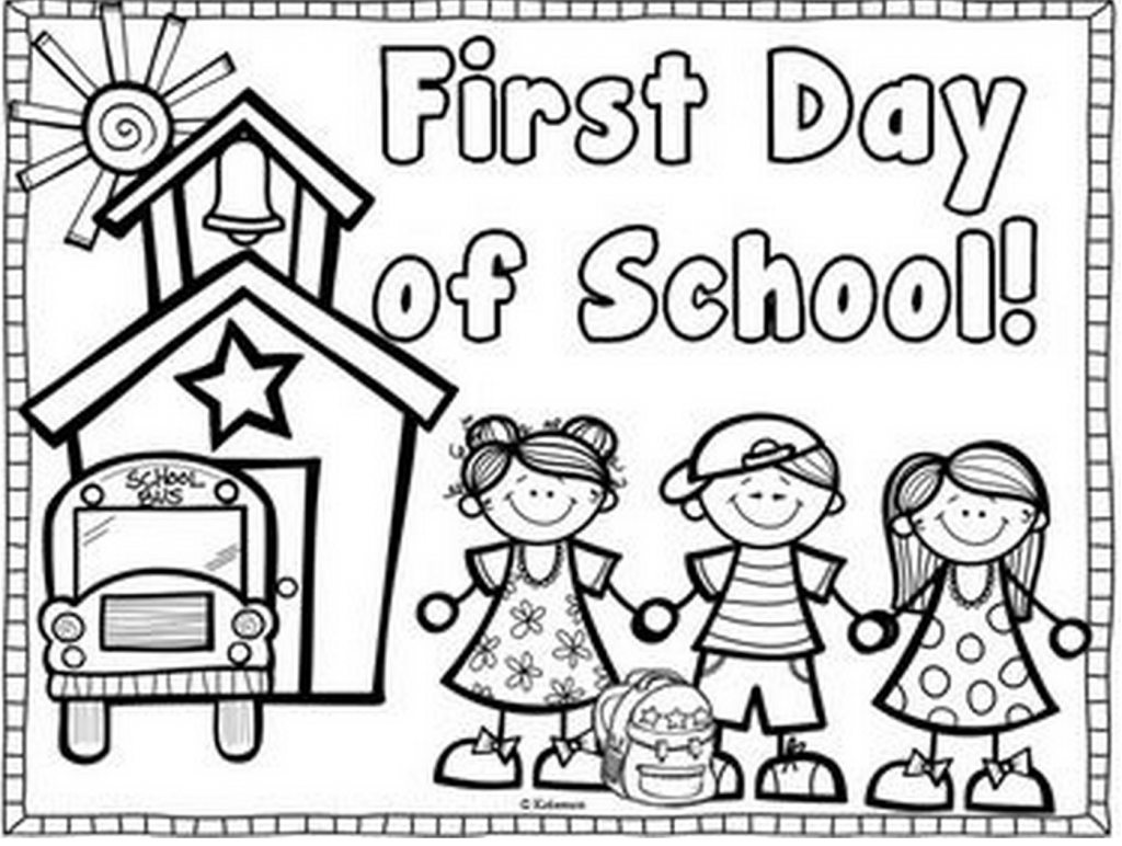 Coloring Page Of A Schoolhouse Page 0 Printable Of Fresh First Day School Coloring Sheets Free Printable Pages Kids Printable