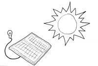 Solar Energy Coloring Pages - Coloring Page solar Energy Img Download