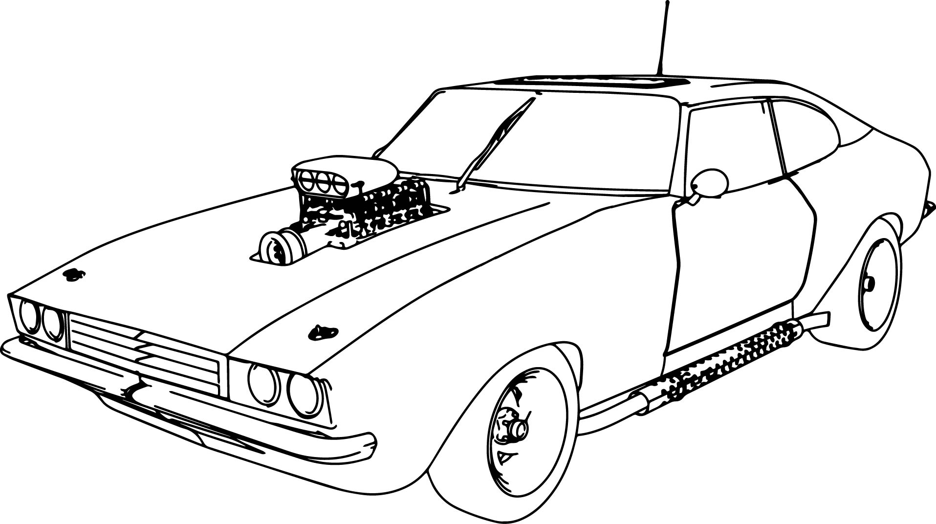 Coloring Pages Cars Coloring Pages Gallery – Free Coloring Sheets