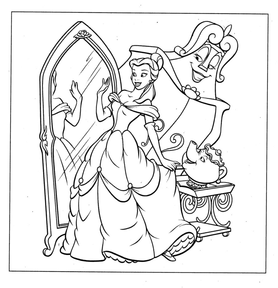 Coloring Pages Disney Dr Odd Gallery Of Walt Disney Coloring Pages Marie Walt Disney Characters Download