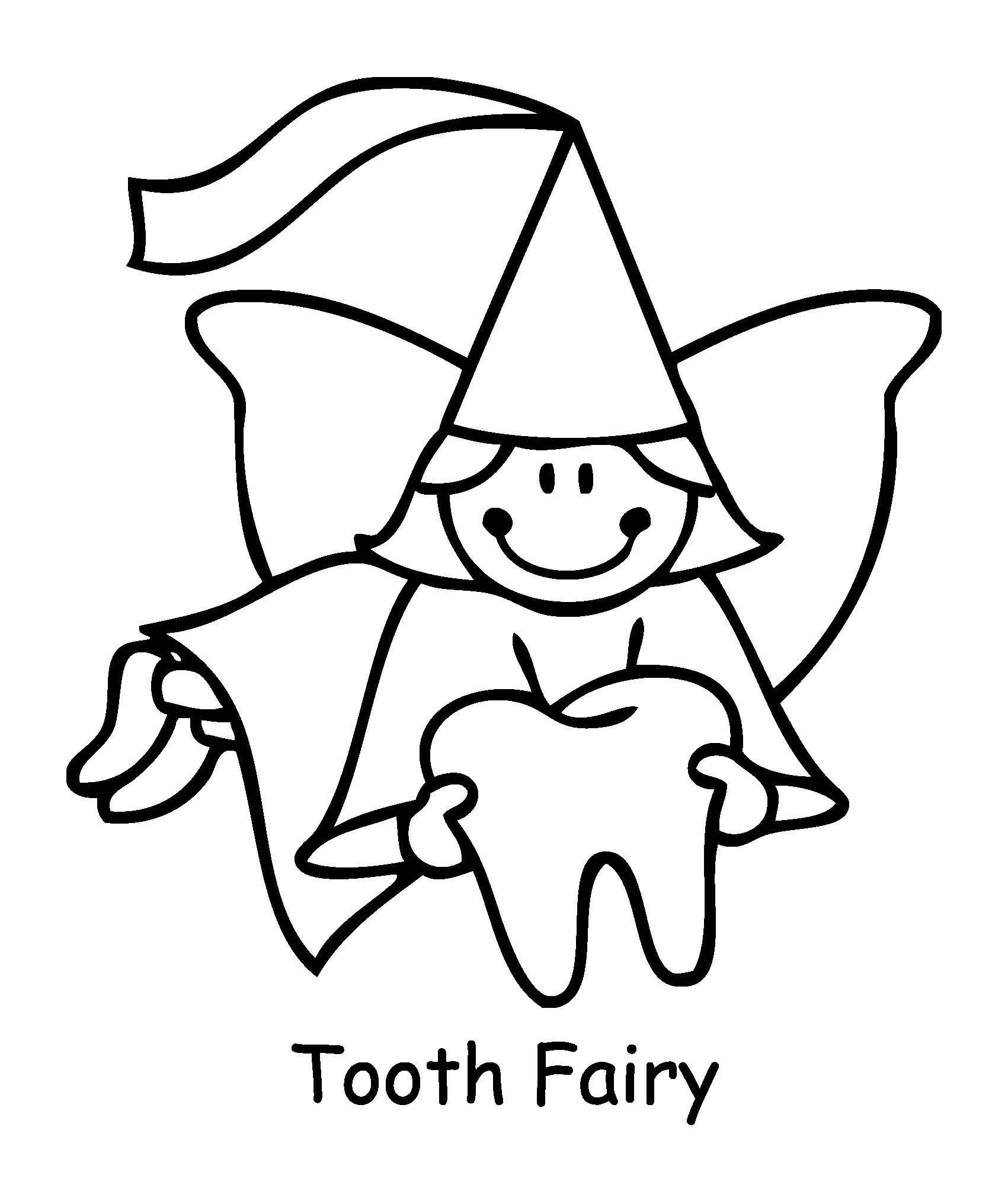 Teeth Coloring Pages Gallery 16p - To print for your project