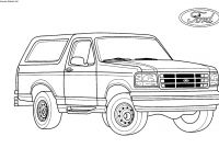 Ford Truck Coloring Pages - Coloring Pages Gallery